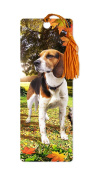 Dimension 9 3D Lenticular Bookmark with Tassel, Beagle, Pet Breed Series