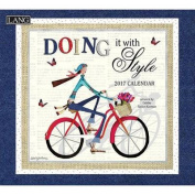 Cal 2017 Doing It with Style 2017 Wall Calendar