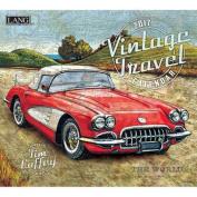 Cal 2017 Vintage Travel 2017 Wall Calendar