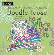 Cal 2017 Doodle House 2017 Box Calendar
