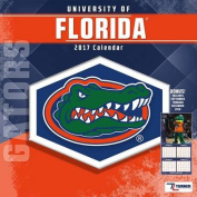Cal 2017 Florida Gators 2017 12x12 Team Wall Calendar