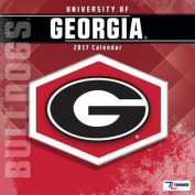 Cal 2017 Georgia Bulldogs 2017 12x12 Team Wall Calendar