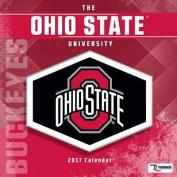 Cal 2017 Ohio State Buckeyes 2017 12x12 Team Wall Calendar