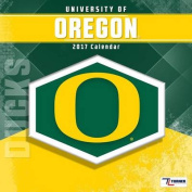 Cal 2017 Oregon Ducks 2017 12x12 Team Wall Calendar