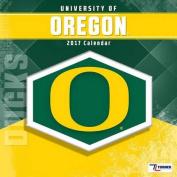 Cal 2017 Oregon Ducks 2017 12x12 Team Wall Calendar