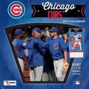Cal 2017 Chicago Cubs 2017 12x12 Team Wall Calendar
