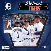 Cal 2017 Detroit Tigers 2017 12x12 Team Wall Calendar