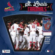 Cal 2017 St Louis Cardinals 2017 12x12 Team Wall Calendar
