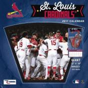 Cal 2017 St Louis Cardinals 2017 12x12 Team Wall Calendar