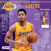 Cal 2017 Los Angeles Lakers 2017 12x12 Team Wall Calendar