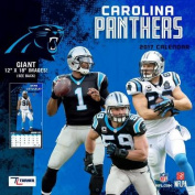 Cal 2017 Carolina Panthers 2017 12x12 Team Wall Calendar