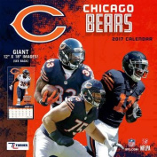 Cal 2017 Chicago Bears 2017 12x12 Team Wall Calendar