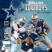 Cal 2017 Dallas Cowboys 2017 12x12 Team Wall Calendar