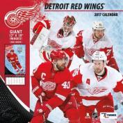 Cal 2017 Detroit Red Wings 2017 12x12 Team Wall Calendar