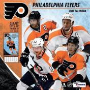 Cal 2017 Philadelphia Flyers 2017 12x12 Team Wall Calendar