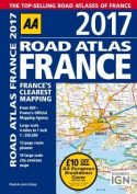 AA Road Atlas France 2017