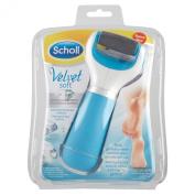 SCHOLL VELVET SMOOTH Râpe électrique Anti-Callosités
