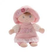 Gund Baby My First Dolly Brunette Rattle, 18cm