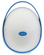 Foryee Portable Removable Travel Carry Potty - Perfect at Home and On the Go - Blue
