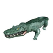 160cm L X 70cm W X 30cm H Inflatable Crocodile,Inflatable alligator,Large Inflatable Outdoor Play Animals Toys