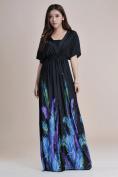 Women Plus Size Floral Maxi Bohemian Beach Summer Long Black/white Dress M- 6xl