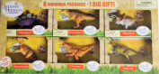 Jurassic Hunters, 6 INDIVIDUAL PACKAGES - 1 BIG GIFT