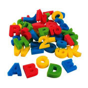 36 Pack - Sponge Foam Letters & Numbers