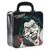 Batman Joker Embossed Tin Tote