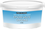 Pro-Kleen Epsom Bath Salts Crystals 2.5 KG Natural Mineral Magnesium Sulphate
