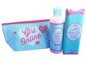 Zoella Bundle inc Girl Online Make Up Bag & Sold Out Limited Edition Zoella Bath Lily