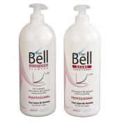Hairbell PRO Kit Shampoo 1000 ml + Balm 1000 ml accelerator of shoot of hair
