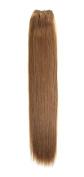 Euro Silky Weave | Human Hair Extensions | 46cm | Caramel Brown (12) American Pride