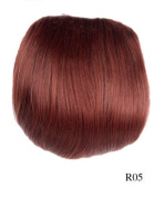 Prettyland - Bun 26cm 67G Extension Hepburn Style Extension with elastic Band and Clips - R05