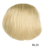 Prettyland - Bun 26cm 67G Extension Hepburn Style Extension with elastic Band and Clips - BL20