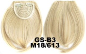 #18_613M 100% High Temperature Synthetic Fibre Clip In/On Front Hair Fringe Hair Bangs
