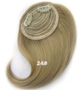 #24 Synthetic Hair Clip In/On Side Hair Fringe/Bangs