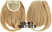 #27_613M 100% High Temperature Synthetic Fibre Clip In/On Front Hair Fringe Hair Bangs