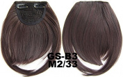 #2_33M 100% High Temperature Synthetic Fibre Clip In/On Front Hair Fringe Hair Bangs