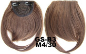 #4_30M 100% High Temperature Synthetic Fibre Clip In/On Front Hair Fringe Hair Bangs