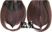 #4_33M 100% High Temperature Synthetic Fibre Clip In/On Front Hair Fringe Hair Bangs
