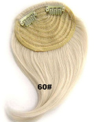 #60 Synthetic Hair Clip In/On Side Hair Fringe/Bangs