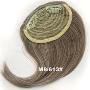 #8_613 Synthetic Hair Clip In/On Side Hair Fringe/Bangs