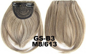 #8_613M 100% High Temperature Synthetic Fibre Clip In/On Front Hair Fringe Hair Bangs