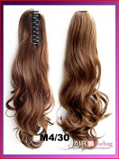 # M4_30 Wavy Claw Hair Ponytail Hair Pieces