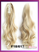 #F18/613 Wavy Claw Hair Ponytail Hair Pieces