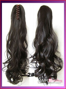 #2 Wavy Claw Hair Ponytail Hair Pieces
