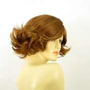 Short Wig Woman Blond Smooth Copper Ref JEANETTE 27