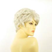 women short wig white clementine 60