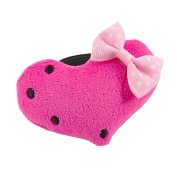 Heart with Bow Hair Bobble Pink