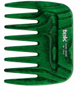 Afro green comb